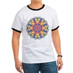 A Colorful Star Ringer T
