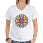 A Colorful Star Women's V-Neck T-Shirt