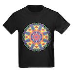A Colorful Star Kids Dark T-Shirt
