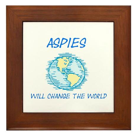 Autism/Asperger's Awareness Framed Tile