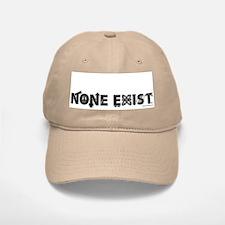 None Exist(tm) Stonewashed Baseball Baseball Cap