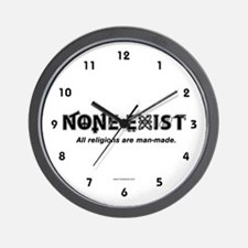 None Exist Wall Clock