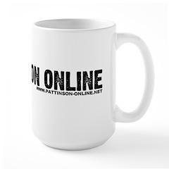 Pattinson Online Logo Mug