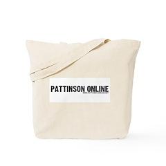 Pattinson Online Logo Tote Bag