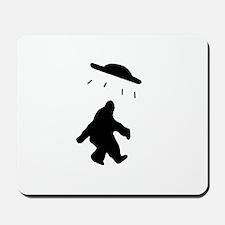 Bigfoot and UFO Mousepad