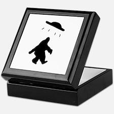 Bigfoot and UFO Keepsake Box