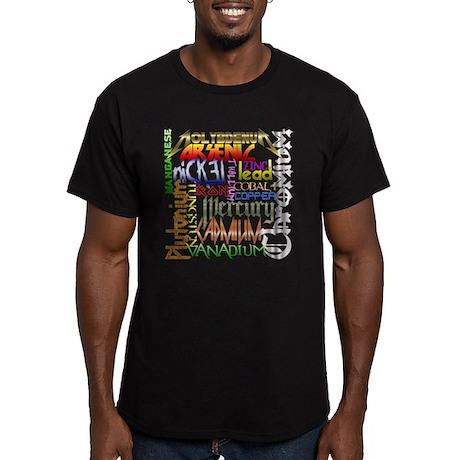 Heavy Metals Men's Fitted T-Shirt (dark)