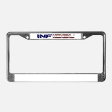 Infidel License Plate Frame