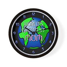 World's Greatest Mom Wall Clock