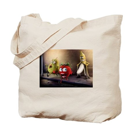 Flashing Fruit Tote Bag