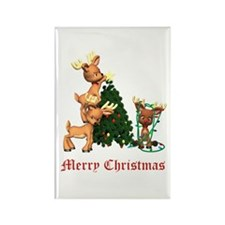 A VERY DEER CHRISTMAS Rectangle Magnet