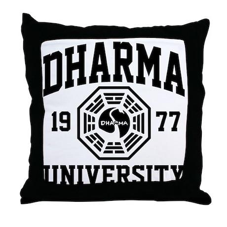 Dharma U Throw Pillow