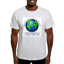 World's Greatest Nephew Ash Grey T-Shirt