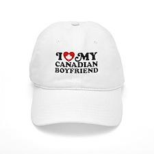 I Love My Canadian Boyfriend Baseball Cap