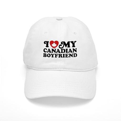 I Love My Canadian Boyfriend Cap