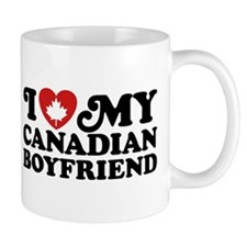 I Love My Canadian Boyfriend Mug