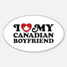 I Love My Canadian Boyfriend Decal