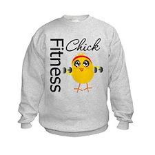 Fitness Chick Sweatshirt