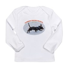 Holiday Dachshund Long Sleeve Infant T-Shirt