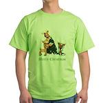 A VERY DEER CHRISTMAS Green T-Shirt