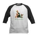 A VERY DEER CHRISTMAS Kids Baseball Jersey