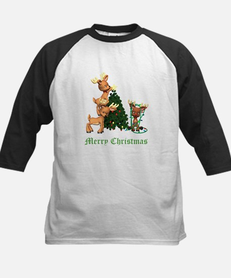 A VERY DEER CHRISTMAS Kids Baseball Jersey