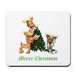 A VERY DEER CHRISTMAS Mousepad