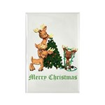 A VERY DEER CHRISTMAS Rectangle Magnet (100 pack)