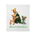 A VERY DEER CHRISTMAS Throw Blanket
