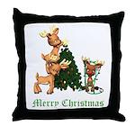 A VERY DEER CHRISTMAS Throw Pillow