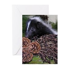 Skunk Christmas Cards (Pk of 10)