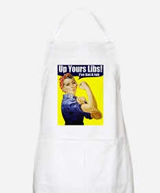 """Rosie """"Up Yours Liberals"""" BBQ Apron"""