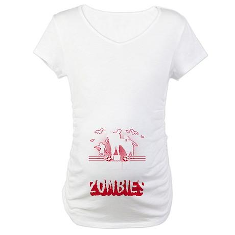 Miles Light Silhouette Maternity Dark T-Shirt