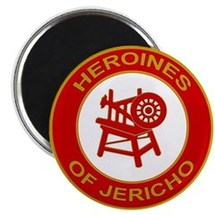 Heroines of Jericho Magnet