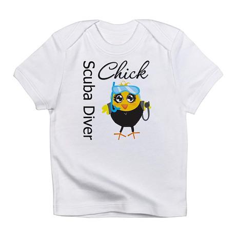 Scuba Diver Chick Infant T-Shirt