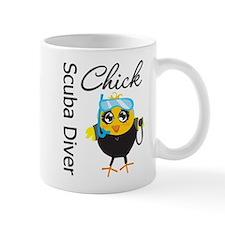 Scuba Diver Chick Mug