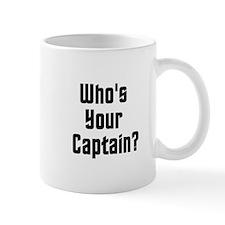 Who's Your Captain? Mug