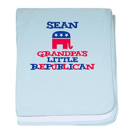 Sean - Grandpa's Little Repub baby blanket