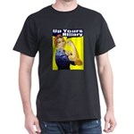 Anti-Hillary Rosie Black T-Shirt