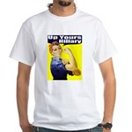 Anti-Hillary Rosie White T-Shirt