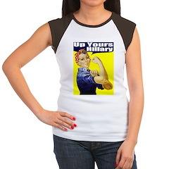 Anti-Hillary Rosie Women's Cap Sleeve T-Shirt