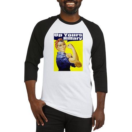 Anti-Hillary Rosie Baseball Jersey