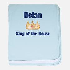 King Nolan baby blanket