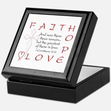 Greatest Is Love Keepsake Box