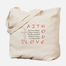 Greatest Is Love Tote Bag