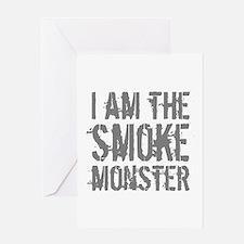 Smoke Monster Greeting Card