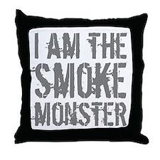 Smoke Monster Throw Pillow