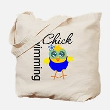 Swimming Chick v2 Tote Bag