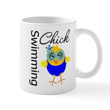 Swimming Chick v2 Mug