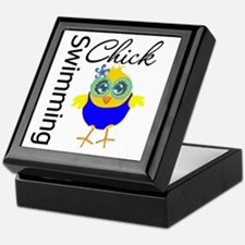 Swimming Chick v2 Keepsake Box